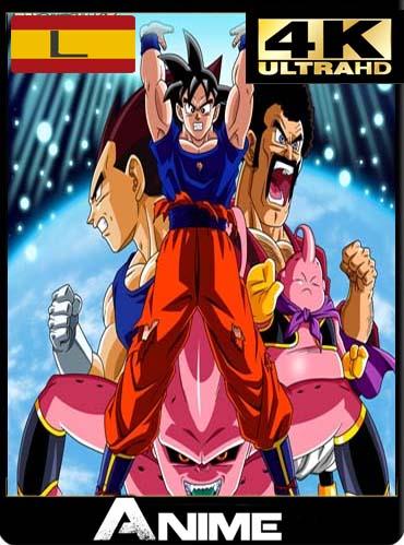 Dragon Ball Z Temporada 9: La Saga de la Fusión & Kid Bu 4K UltraHD latino [GoogleDrive]