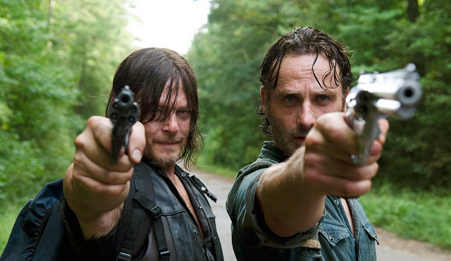 Rick y Daryl en el 6x10 de 'The Walking Dead'