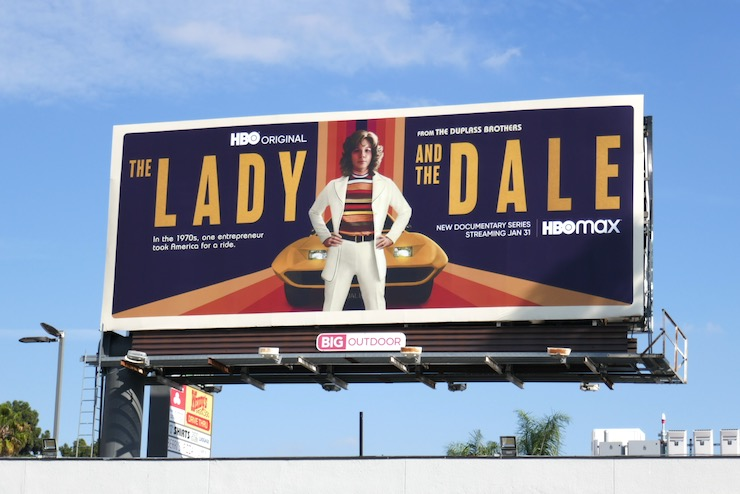 Lady and the Dale series billboard