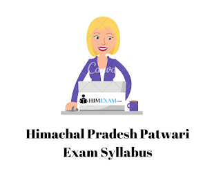 Syllabus- Himachal Pradesh Revenue Department - Patwari exam