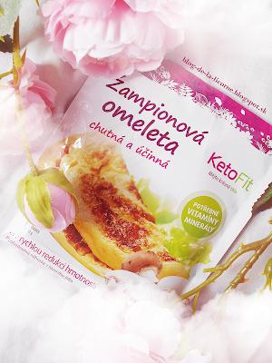 Proteínová omeleta šampiónová KetoFit recenzia