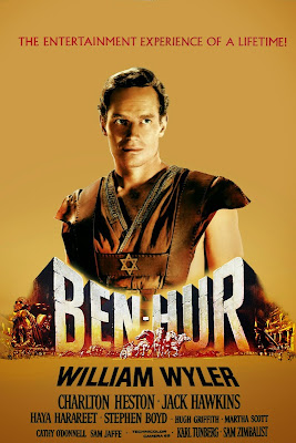 Poster Of Ben Hur (1959) Full Movie Hindi Dubbed Free Download Watch Online At worldfree4u.com