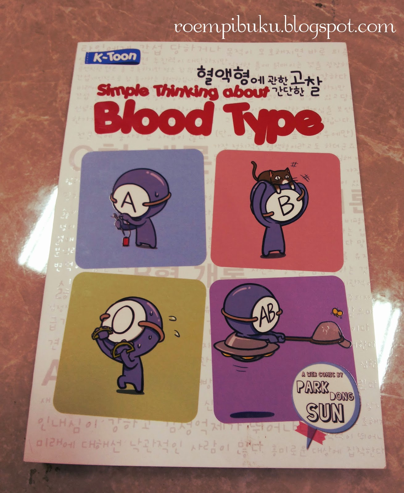 Review simple thinking about blood type