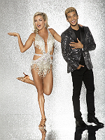 Jordan Fisher with Lindsay Arnold