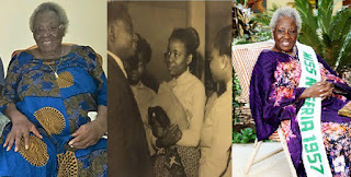 #ThrowbackThursday Meet the first ever Miss Nigeria, Grace Oyelude, who still looks graceful at 86