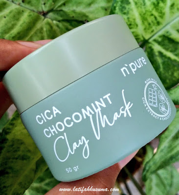 N'PURE Cica Chocomint Clay Mask
