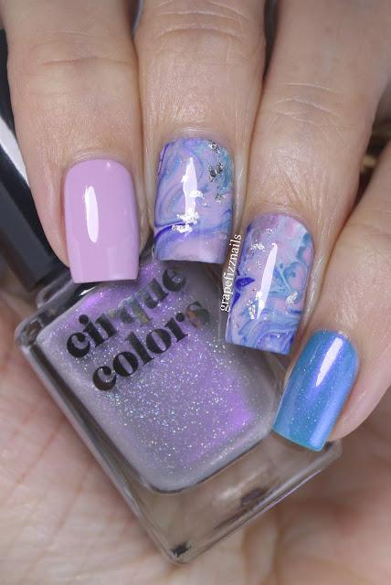 Cirque Colors Drip Marble Mani