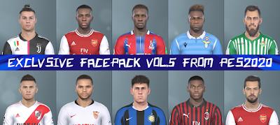 PES 2019 Facepack V5 from PES 2020