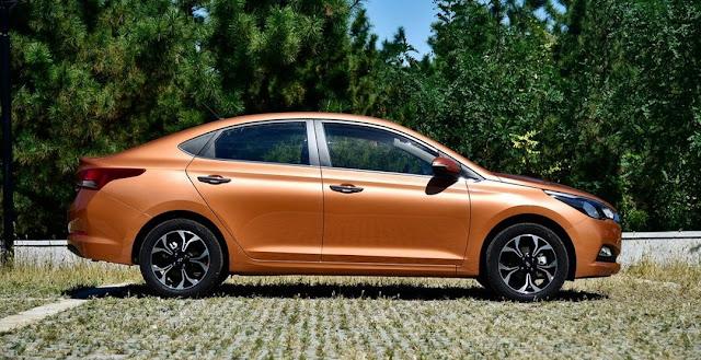 Hyundai Verna (второе поколение Solaris)