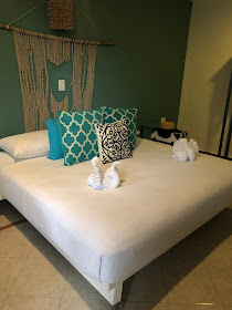 Tulum, travel guide, what to do in Tulum, Wildflower Tours, Casa Colonial Vintage Hotel, swan towels
