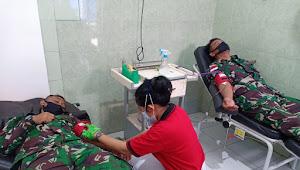 TNI Siap Donor Darah Untuk Ibu Hamil di Papua