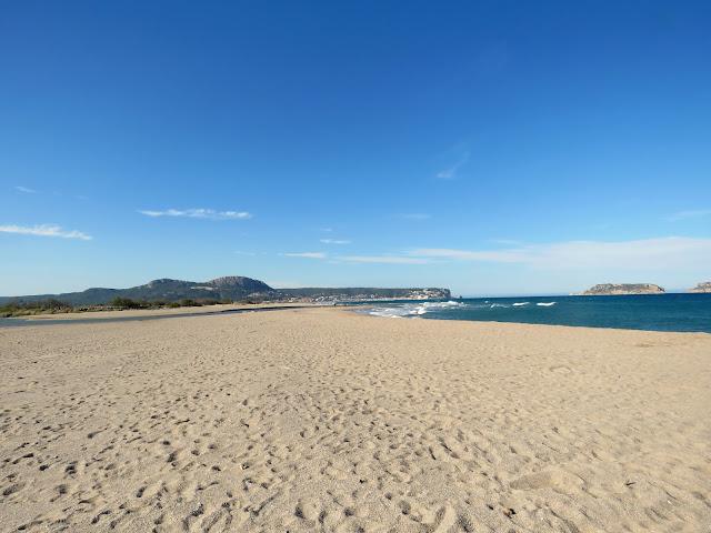 Fonollera i Mas Pinell Beach, Costa Brava