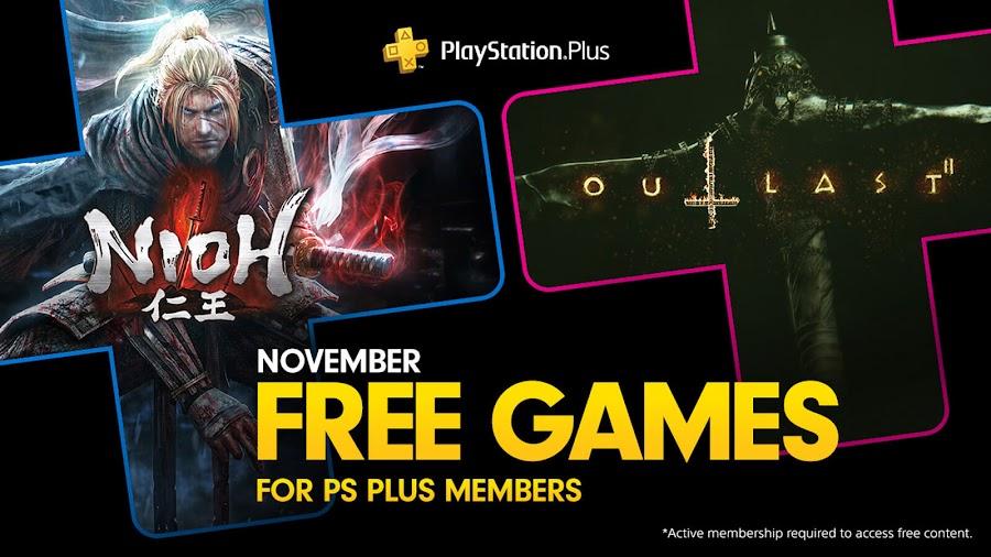 nioh outlast 2 game ps4 plus sony interactive entertainment team ninja koei tecmo red barrels