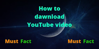 How to dawnload YouTube video