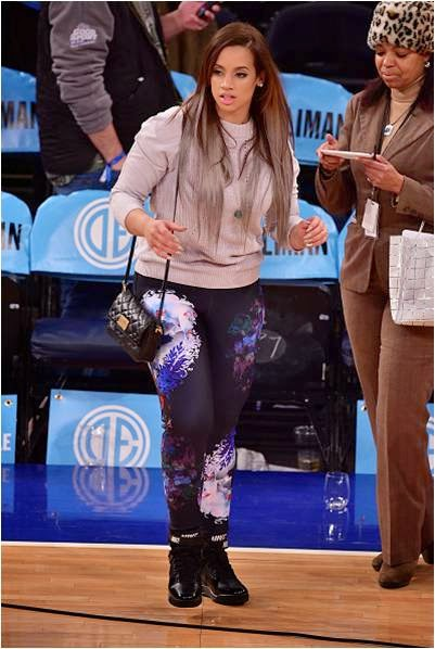 Dascha Polanco in Bonded Leggings