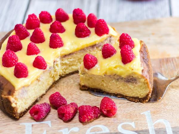 Instant Pot: Raspberry Lemon Cheesecake