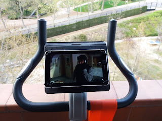 Bicicleta estática - Netflix