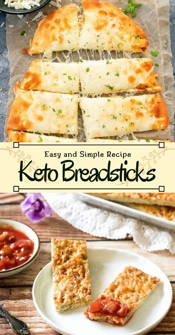 Keto Breadsticks #healthyfood #dietketo #breakfast #food