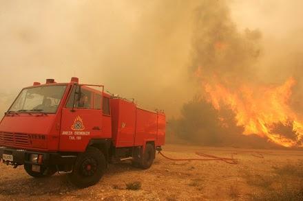 Φωτιά ξέσπασε στη Σιθωνία Χαλκιδικής