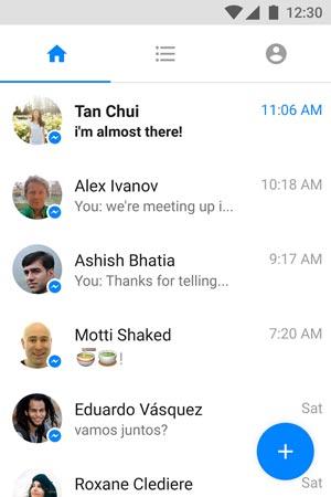 تحميل برنامج ماسنجر لايت الموبايل