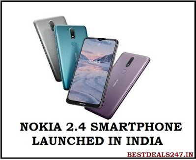 Nokia 2.4 Smartphone launched in India
