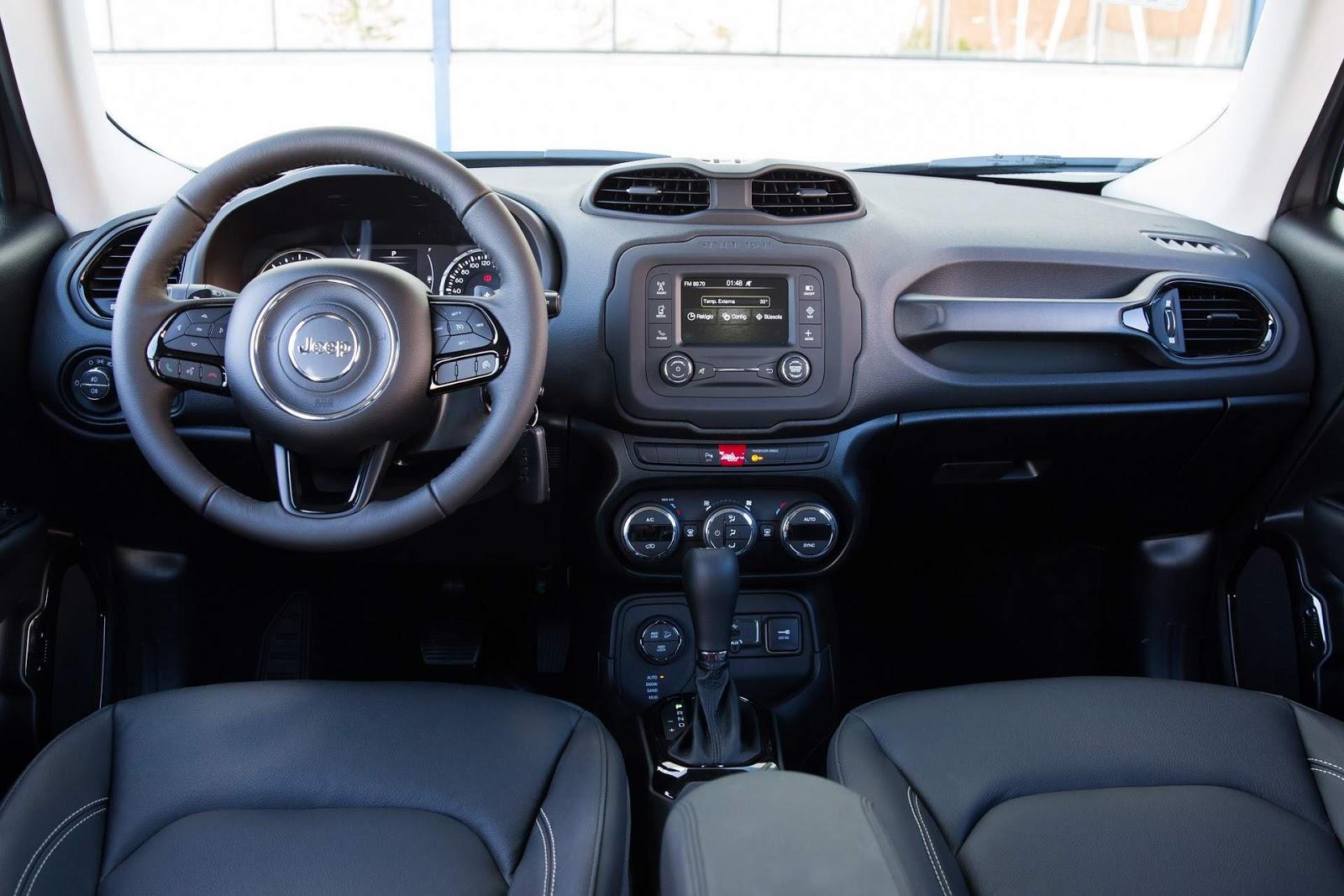 Jeep renegade 2018 fotos vers es pre os e consumo car for Interior jeep renegade