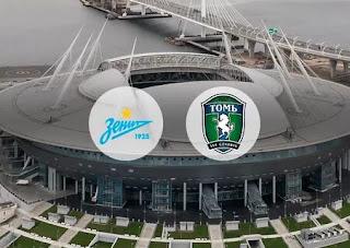 Зенит - Томь смотреть онлайн бесплатно 30 октября 2019 прямая трансляция в 20:00 МСК.