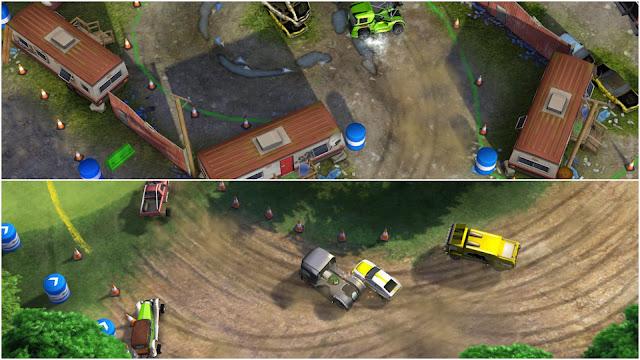 3.Reckless Racing 3 (Dirt Racing truck game)