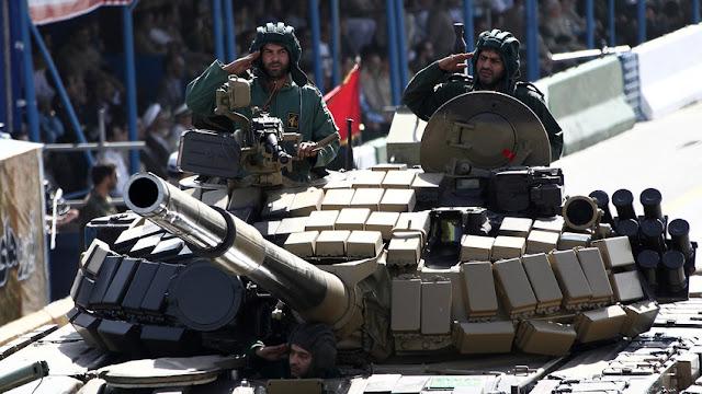 Quais armas russas são usadas pelo exército iraniano
