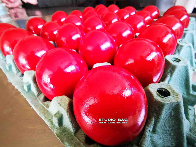 Οι συμβολισμοί των κόκκινων αυγών του Πάσχα