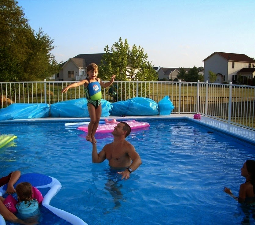 pool, Demo, Kayak Pools Midwest, summer fun, water, enjoy, save money