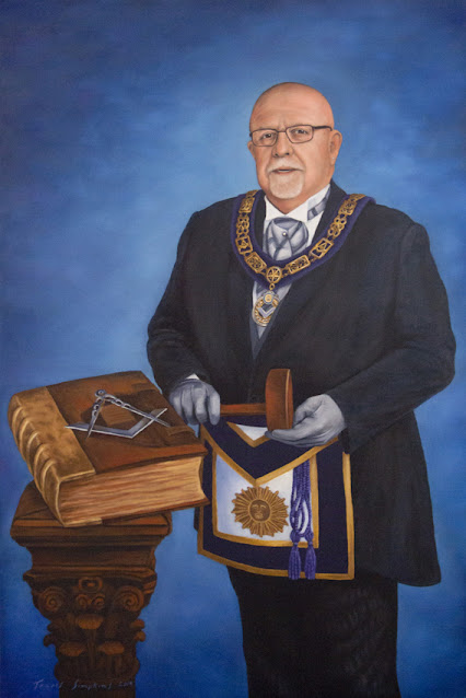 M.W. Gregory J. Scott. Grand Master. Grand Lodge of New Jersey. by Travis Simpkins