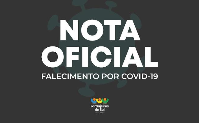 Covid-19: Laranjeiras registrou seu 79ª óbito nesta terça-feira