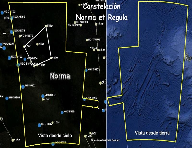 Constelación Norma