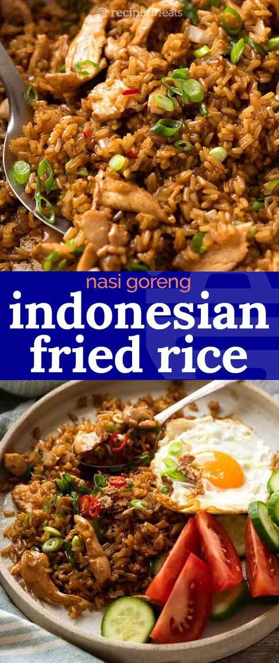 Amazing Nasi Goreng (Indonesian Fried Rice)