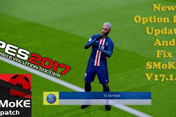 New Option File For SMoKE Patch V17.1.5 - PES 2017
