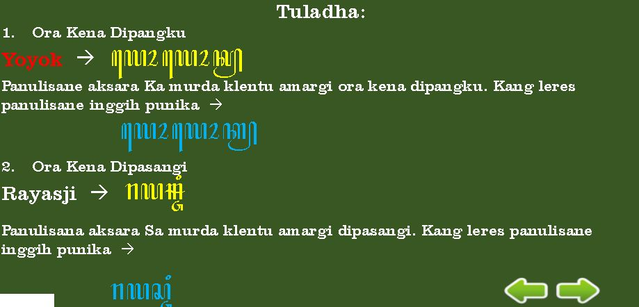 Aksara ghjng ( aksara kn ) hal 2 2. Aksara Murda dan Pasangannya Lengkap + Contoh | Contoh