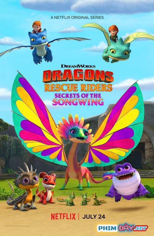 Biệt Đội Giải Cứu Rồng: Bí Mật Của Rồng Hát - Dragons: Rescue Riders: Secrets of the Songwing (2020)