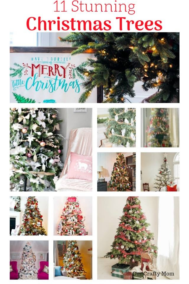 Christmas Tree Decor Blog Hop - 11 Christmas Trees for your inspiration!