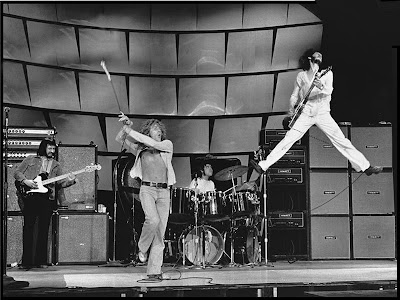 The Who on stage kicking ass!