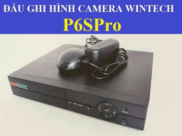 Đầu ghi hình camera WTD-16 P6SPRO