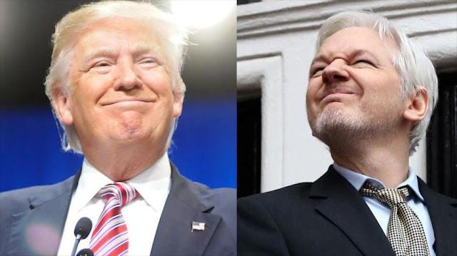 """""""Wikileaks 'no puede competir' con las declaraciones de Trump"""""""