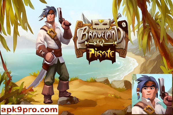 Braveland Pirate 1.2 Apk + Mod + Data (File size 367 MB) for android