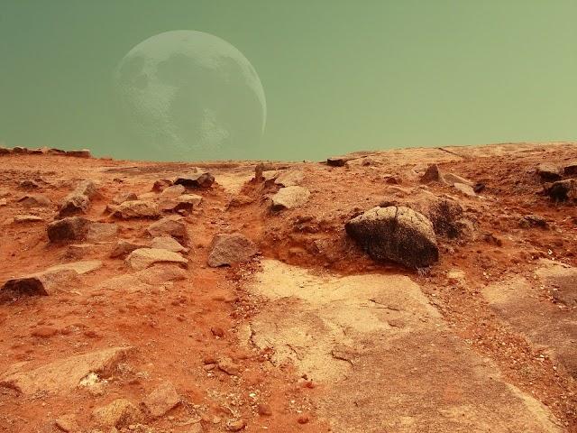 HOW WE LIVE ON MARS?