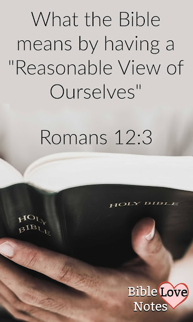 This short verse is packed with a powerful truth about the basis for a biblical self-esteem.