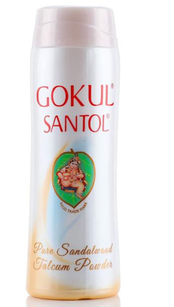 Gokul Santol Talcum Powder 140g (Pack of 2)
