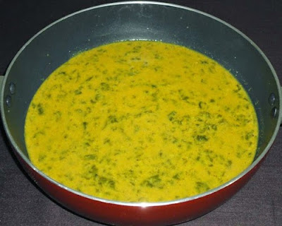 masala paste added