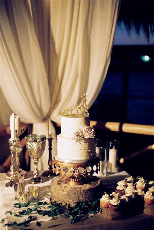 boda en tonos dorados en chicanddeco