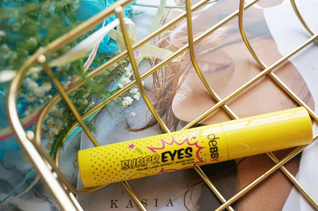 deBBY mascara Supreyes sztuczne rzęsy makijaż