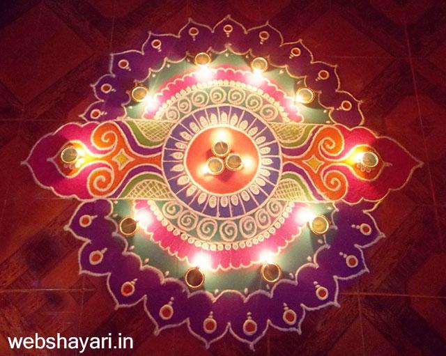 Diwali - रंगोली डिजाइन दिवाली rangoli design  photo Diwali Rangoli Designs Download